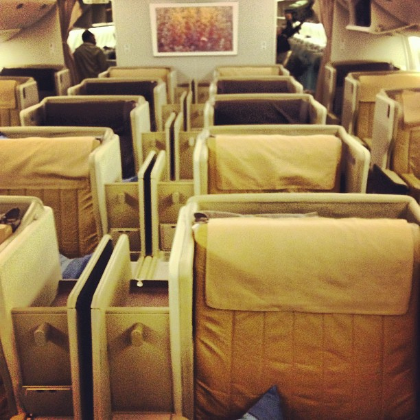 If you've just booked a hotel in Madrid—or a hotel in Las Vegas—you'll be much more comfortable if you use these tips to find a better seat.